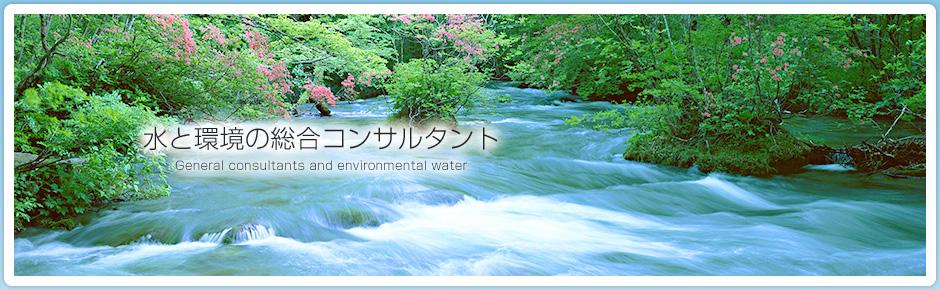 水と環境の総合コンサルタント